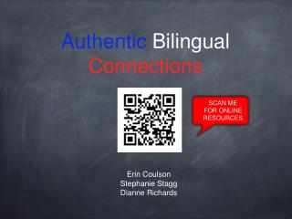 Authentic  Bilingual  Connections