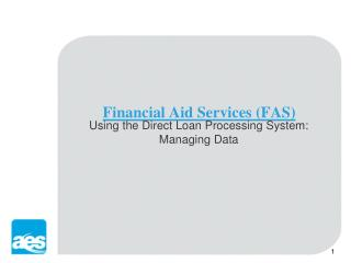 Financial Aid Services (FAS)