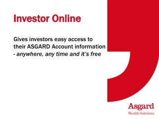 Investor Online