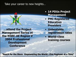 Take your career to new heights…