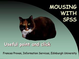MOUSING  WITH  SPSS