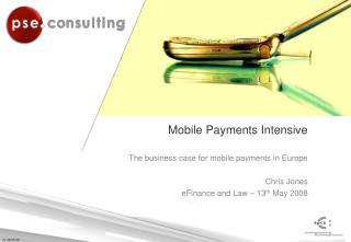 Mobile Payments Intensive