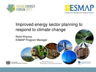 Improved energy sector planning to respond to climate change