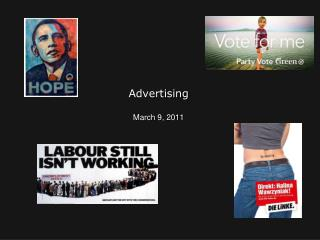 Advertising March 9, 2011