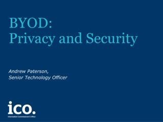 BYOD: Privacy and Security