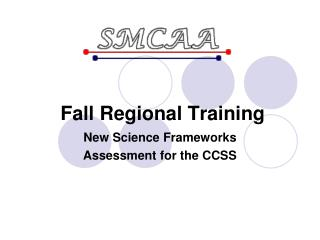 Fall Regional Training