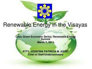 Renewable Energy in the Visayas