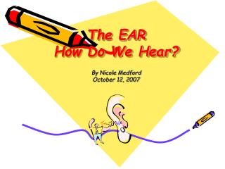 The EAR How Do We Hear?