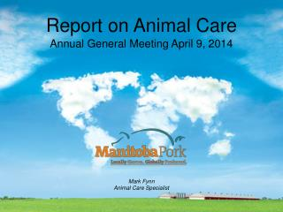 Report on Animal Care