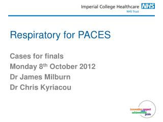 Respiratory for PACES