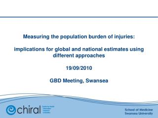 Aim: UK Burden of Injuries Study