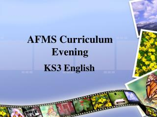 AFMS Curriculum Evening