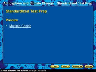 Standardized Test Prep