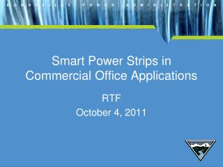Smart Power Strips in Commercial Office Applications