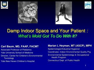 Damp Indoor Space and Your Patient  : What's Mold Got To Do With It?