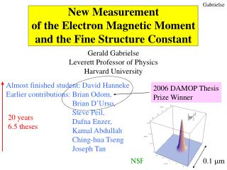 New Measurement  of the Electron Magnetic Moment and the Fine Structure Constant