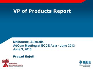 VP of Products Report