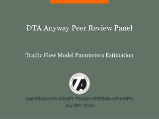 DTA Anyway Peer Review Panel