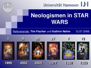 Neologismen in STAR WARS