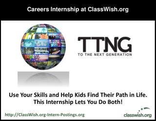 Careers Internship at ClassWish
