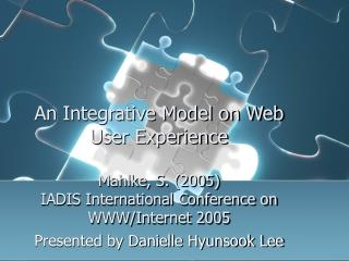 Presented by Danielle Hyunsook Lee