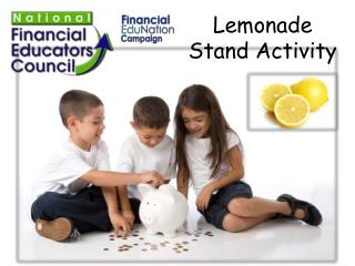 Lemonade Stand Activity