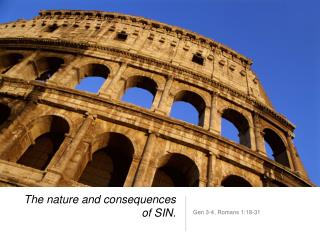 The nature and consequences of SIN.