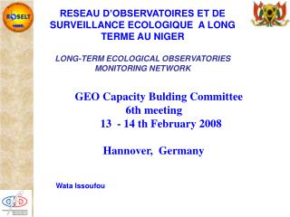 GEO Capacity Bulding Committee                   6th meeting           13  - 14 th February 2008
