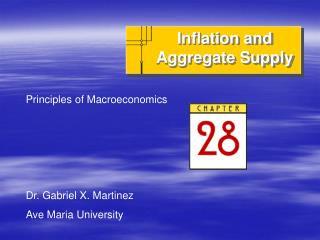 Inflation and Aggregate Supply