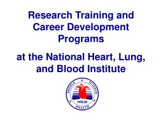 at the National Heart, Lung, and Blood Institute