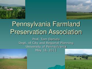Pennsylvania Farmland Preservation Association
