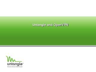 Untangle and OpenVPN