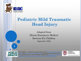 Pediatric Mild Traumatic  Head Injury