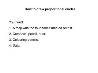 How to draw proportional circles