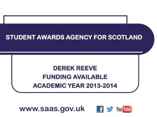 DEREK REEVE FUNDING AVAILABLE  ACADEMIC YEAR 2013-2014