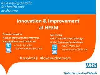 Innovation & Improvement  at HEEM