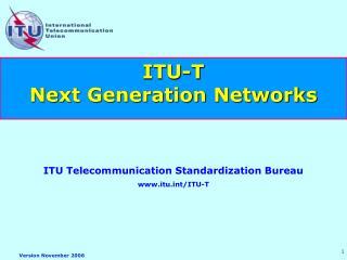 ITU-T  Next Generation Networks