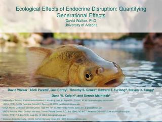 Aquatic Ecology and Endocrine Disruption