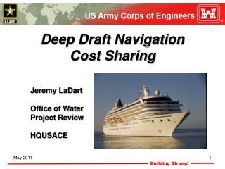 Deep Draft Navigation Cost Sharing
