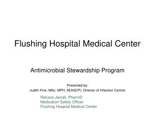 Flushing Hospital Medical Center