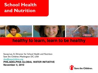 School Health and Nutrition