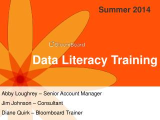 Data Literacy Training