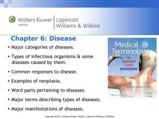 Chapter 6: Disease