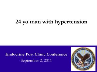 Endocrine Post Clinic Conference September 2, 2011