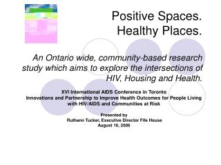 XVI International AIDS Conference in Toronto