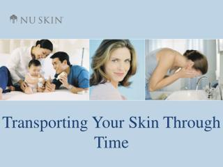 Transporting Your Skin Through Time
