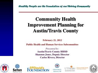 February 21, 2012 Public Health and Human Services Subcommittee