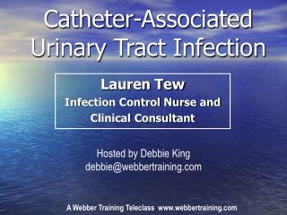 Catheter-Associated Urinary Tract Infection