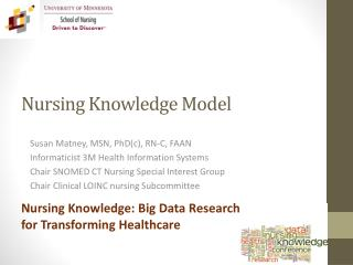 Nursing Knowledge Model