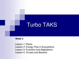 Turbo TAKS